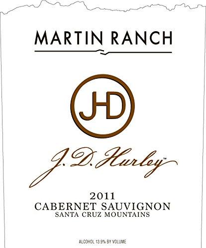 2011 Martin Ranch Winery J.D. Hurley Cabernet Sauvignon Santa Cruz Mountains 750 Ml