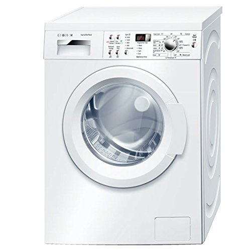 Bosch WAQ283S1GB VarioPerfect 8kg 1400rpm Freestanding Washing Machine In White