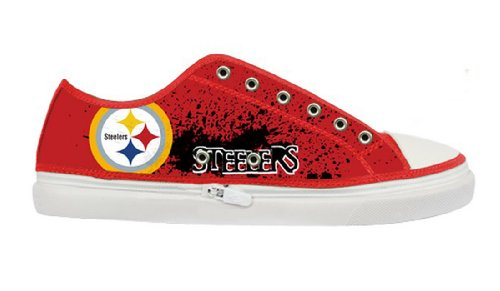 Antiskid Sneakers Shoes with Pittsburgh Steelers for Males at Amazon.com