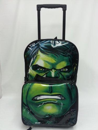 Elliota Preston New Avengers Hulk Rolling Back Pack Book