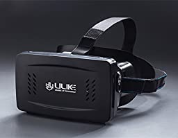 "ULIKEâ""¢ 3D VR Box Virtual Reality Headset Pupil Distance Adjustable VR Glasses For 3D Vides Movies Games Fits For Smartphones From 3.5 to 6 inches (Black)"