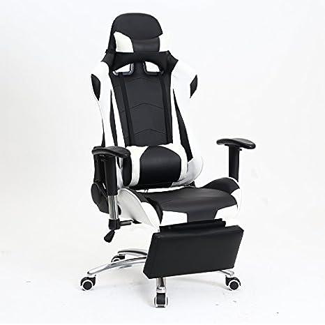 Esports sedia home office sedia,nero e verde del pedale del rullo