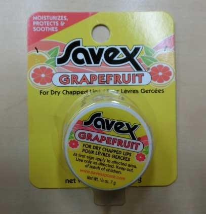 サベックス サベックス リップクリーム グレープフルーツ ジャー 7g
