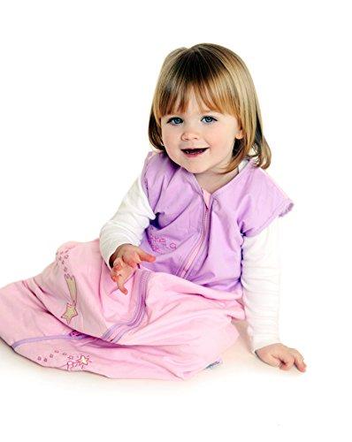 Slumbersac - Sacco A Pelo Invernale 2.5 Tog Per Bambini 110Cm/12-36 Mesi - Fata Rosa