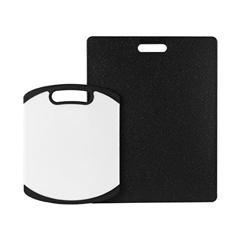 Farberware 2-Piece Non-Slip Poly Cutting Board Set (Farberware Poly Cutting Board compare prices)