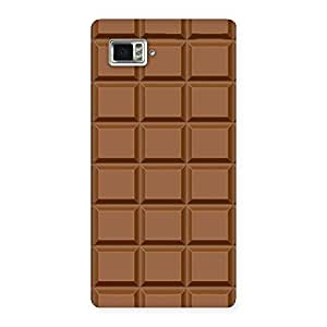Chocolate Class Print Back Case Cover for Vibe Z2 Pro K920