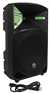 "Mackie THUMP-12 12"" Powered Active 1000w PA DJ Speaker+Hydraulic Speaker Stand"