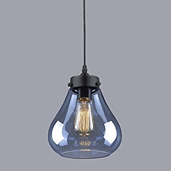 YOBO Lighting Glass Ceiling Pendant Light