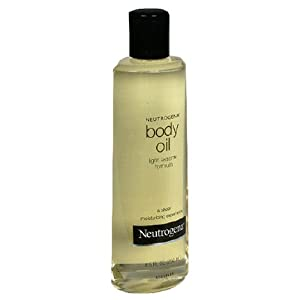 Neutrogena Body Oil, Light Sesame Formula, 8.5 Ounce (Pack of 2)