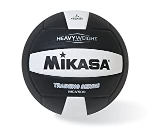 Buy Mikasa MGV500 Heavy Weight Volleyball (Official Size) by Mikasa Sports