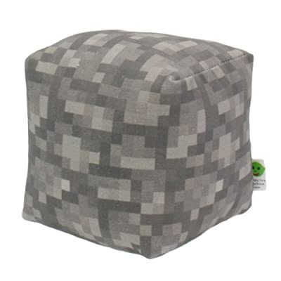 Minecraft Stone Block Plush Toy For Babies And Toddlers Large by Happy Toy Machine
