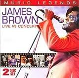echange, troc James Brown - Music Legends: James Brown Live in Concert