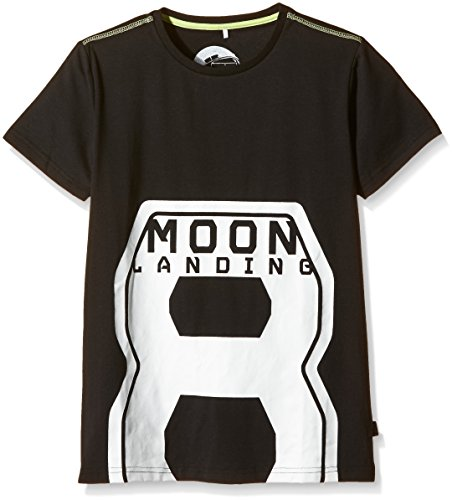 Jungen T-Shirt Ean  Schwarz  Black   11-12 Jahre  Herstellergröße  146-152