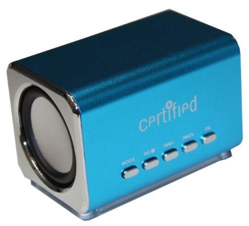 Certified Mini Portable Speaker (Blue)