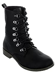 SHUZ TOUCH BLACK Boots (SIZE-36)