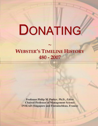 Donating: Webster's Timeline History, 480 - 2007