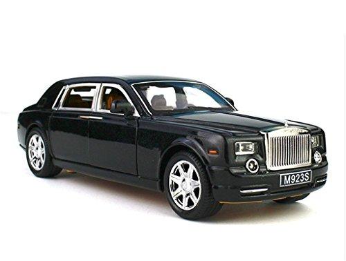 124-rolls-royce-phantom-diecast-sound-light-pull-back-model-toy-car-black-new-in-box