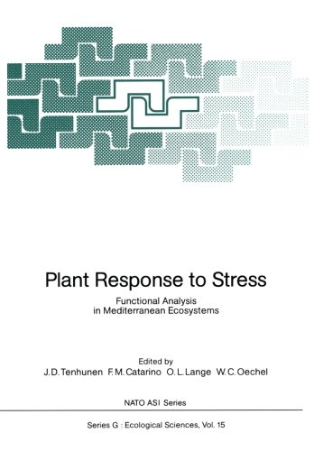 Plant Response To Stress: Functional Analysis In Mediterranean Ecosystems (Nato Asi Subseries G:)