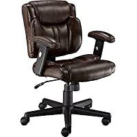 Telford II Luxura Managers Chair (Black/Brown)