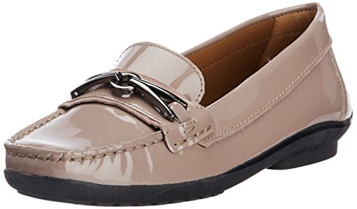 Geox Geox Women's Leather Loafers And Mocassins (Multicolor)