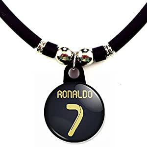 Amazon.com: Cristiano Ronaldo Soccer Jersey Necklace: Sports Fan