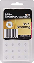 White Self-Sticking Reinforcements - 544 Ct - White Self-Sticking Reinforcements - 544 Ct. These White 0.562\