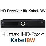 Humax iHD-Fox C HDTV Kabelreceiver für Kabel BW