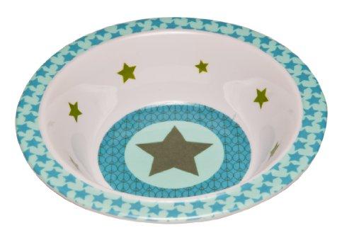 Lässig Dish Bow Melamin Schüssel aus 100% Melamin BPA-frei und rutschfest, Starlight, olive