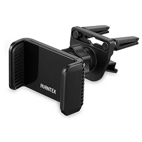 AVANTEK Universal Cell Phone Air Vent Car Mount Holder Cradle - Black (Iphone Car Vent Holder compare prices)