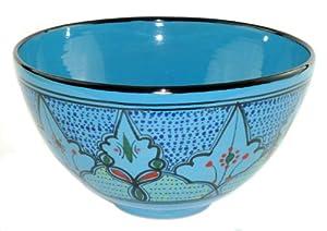 Le Souk Ceramique Deep Salad Bowl, Sabrine Design by Le Souk Ceramique