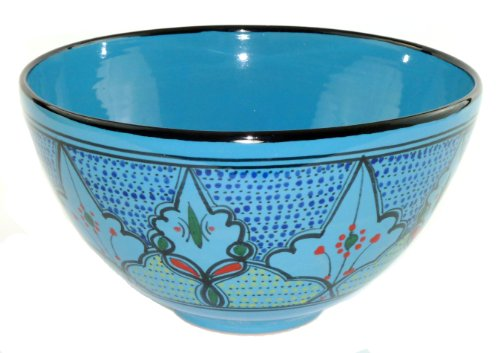 Le Souk Ceramique Deep Salad Bowl, Sabrine Design