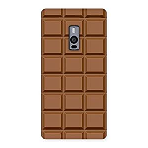 Chocolate Class Print Back Case Cover for OnePlus Two
