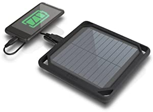Eton BoostSolar 5000 mAh Lithium Backup Battery Pack - Black (NBOSO5000B)