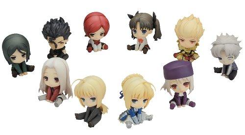 ぺたん娘みにっ! トレーディングフィギュア Fate/Zero (ノンスケール PVC製塗装済みトレーディングフィギュア)