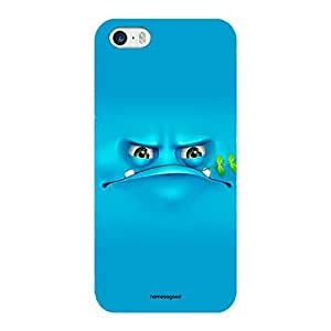 Homesogood Funny Grumpy Multicolor Case For iPhone 5 / 5S (Back Cover)