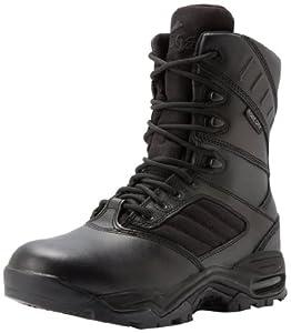 Ridge Outdoors Ultimate Zipper Duty Military Uniform Work Duty Boots Men'S Police Motorcycle, Wide, 7.5W from Ridge