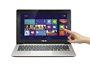ASUS VivoBook X202E-DH31T-SL 11.6-Inch Touchscreen Laptop (Silver) (OLD VERSION)