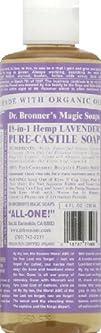 Castile Liquid Soap-Lavender – 8 oz -…