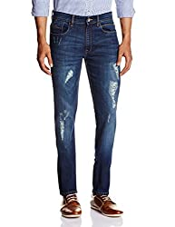 IZOD Men's Afflick Skinny Fit Jeans (8907259315645_ZLJN0069_36W x 34L_Indigo)