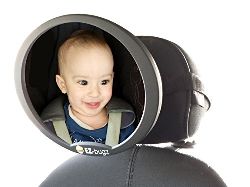 ez-bugz-adjustable-safety-mirror-for-rear-facing-car-seats-wide-angle-view-of-your-newborn-baby-or-i