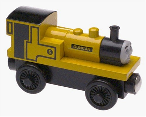 Thomas & Friends Wooden Railway Train - Duncan - Loose Brand New (Roll And Whistle Emily compare prices)