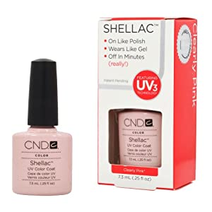 shellac clearly pink  £ 14 64 free uk