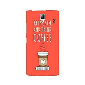 Ebby Keep Calm and have Cofee Premium Printed Case For Lenovo A2010