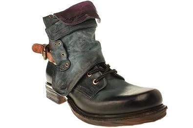Airstep SAINT METAL - Damen Stiefelette Cowboy-/ Bikerstiefelette Boots - 717204-8509