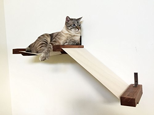 wall mounted cat furniture. Modren Mounted CatastrophiCreations Small Fabric Raceway  Hammock Lounger Handcrafted  Wallmounted Cat Tree Shelving Inside Wall Mounted Furniture