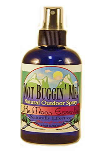 Not Buggin' Me Natural Outdoor Spray 8 ounces by Little Moon Essentials