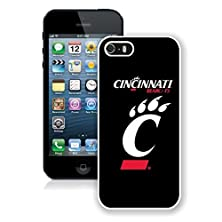 buy New Unique Designed Cover Case For Iphone 5S With Cincinnati Bearcats 1 Iphone 5S White Phone Case 088