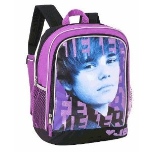 Amazon.com: Justin Bieber Bieber Backpack - Purple and ... - photo #17