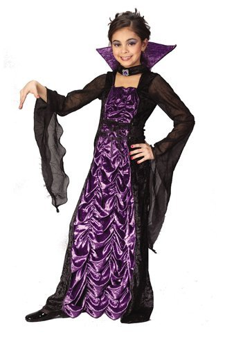 [Countess of Darkness Child Costume (Small) by Halloween FX] (Countess Of Darkness Child Halloween Costume)