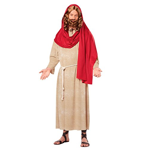 Jesus Adult Costume Christ Biblical Bible Christian Christmas Xmas Religious